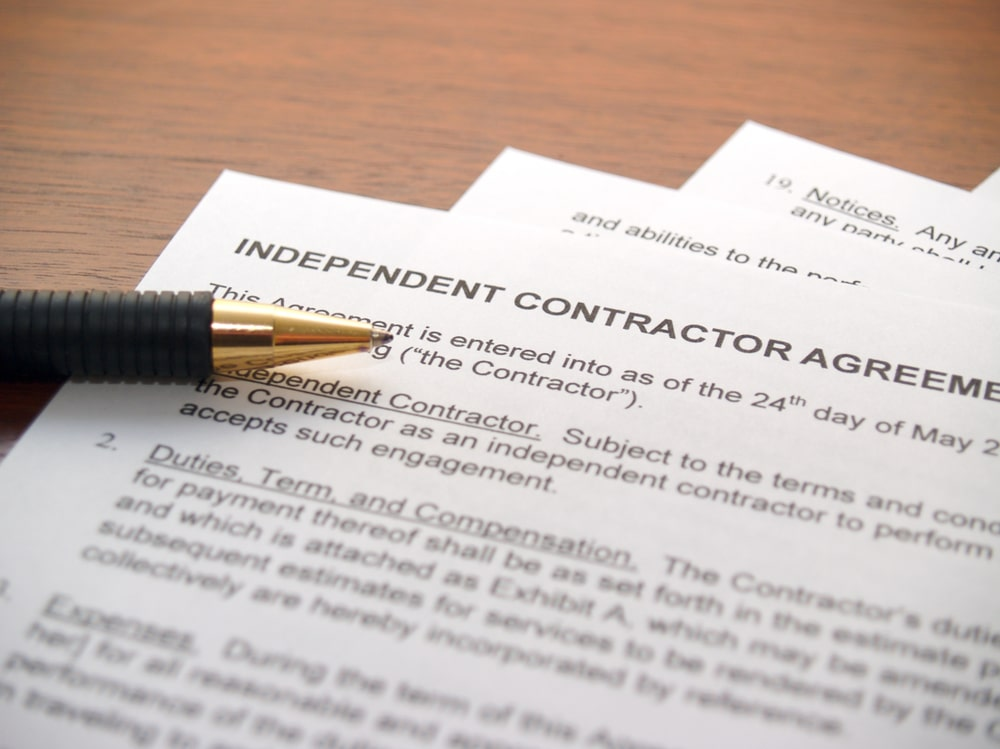 independent contractor misclassification employee